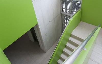 centro vela escaleras
